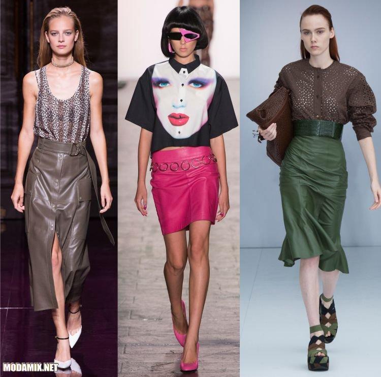 Модные юбки 2017 Весна Лето