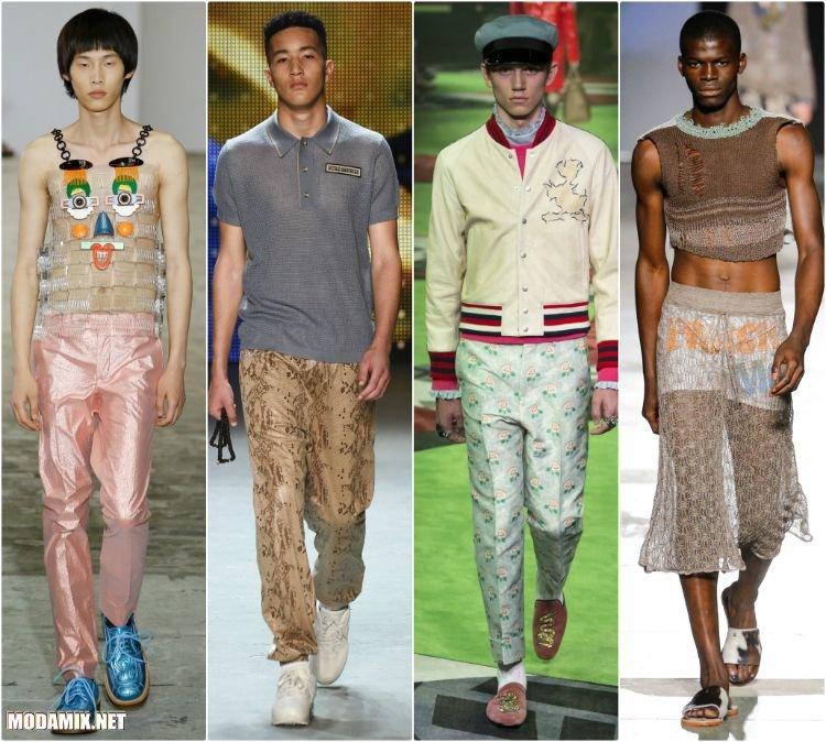 Модные мужские брюки на лето 217 года