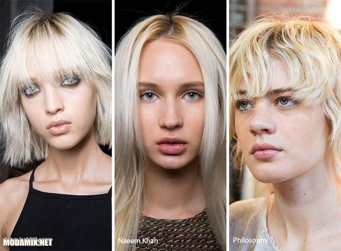 Модный цвет волос - пепельный блонд