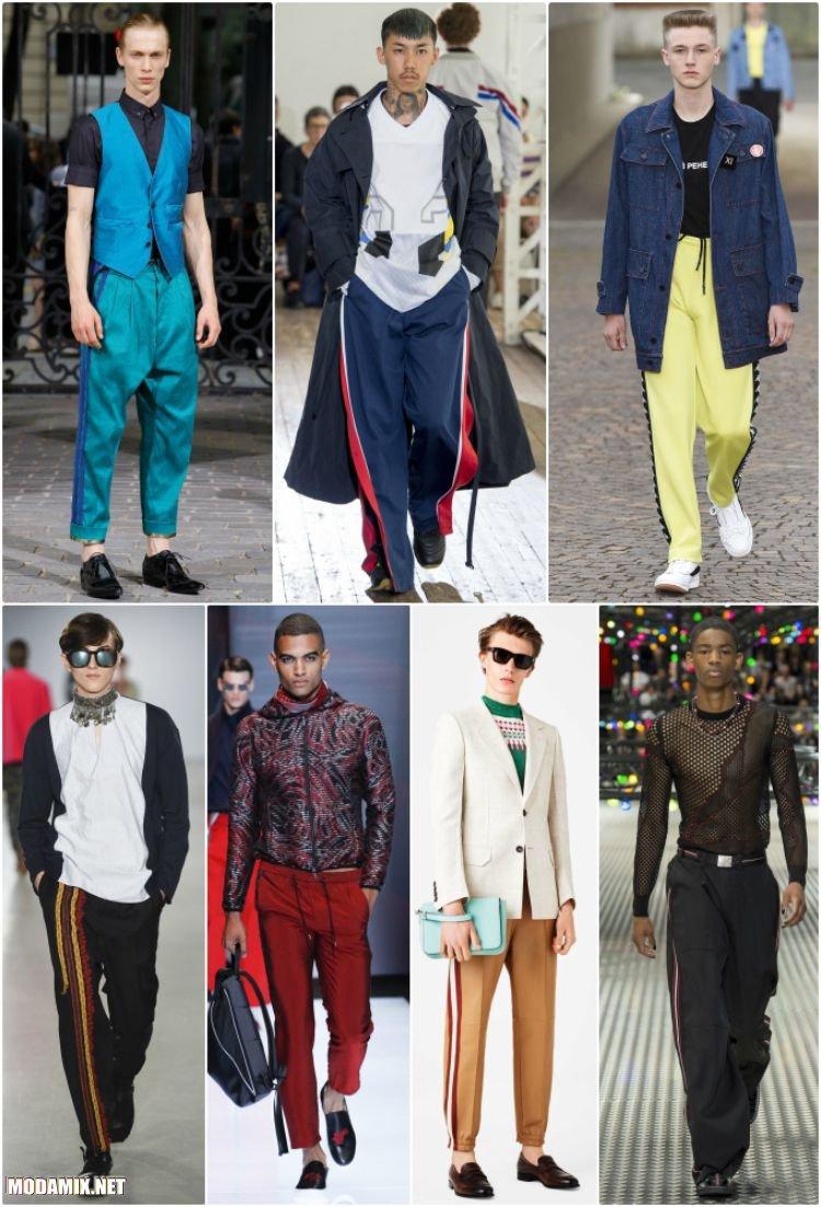 Мужские брюки с лампасами 2017