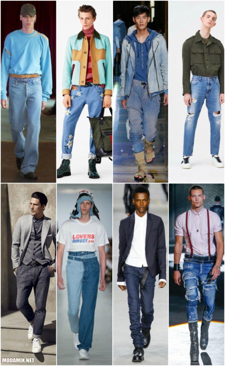 Мужские джинсы 2017 года
