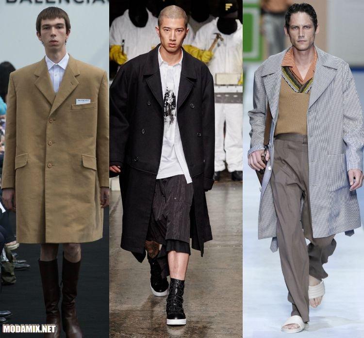 Самые модные мужские пальто на весну 2017 в стиле оверсайз