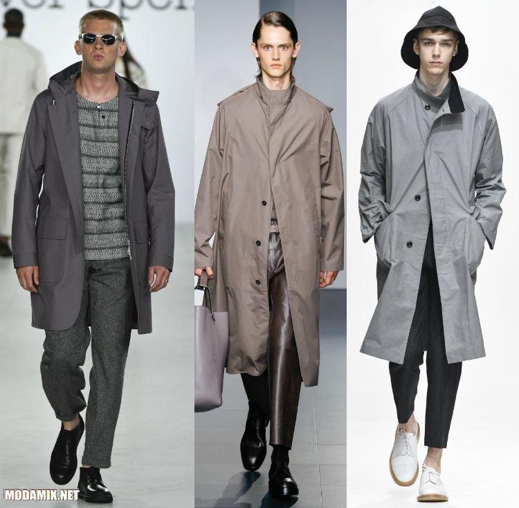 Фото мужских пальто фасона реглан