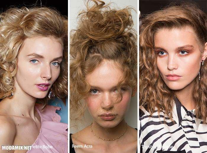 Пышные локоны в стиле 80-х - модная прическа 2017 года