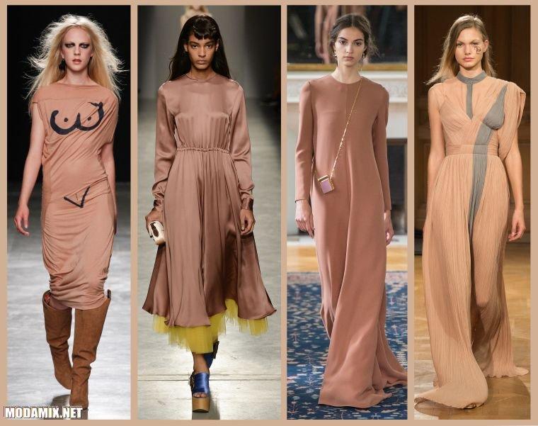 Модные цвета платьев 2017 фото