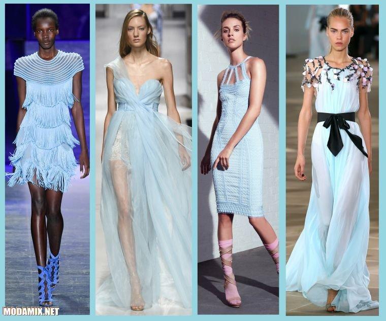 Cамый модный цвет платья 2017