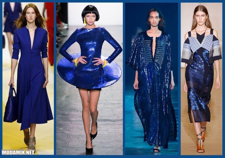 Какой цвет платья модный в 2017 году?