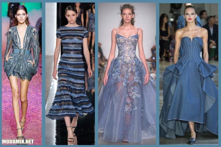 Какой цвет платья модный в 2017 году