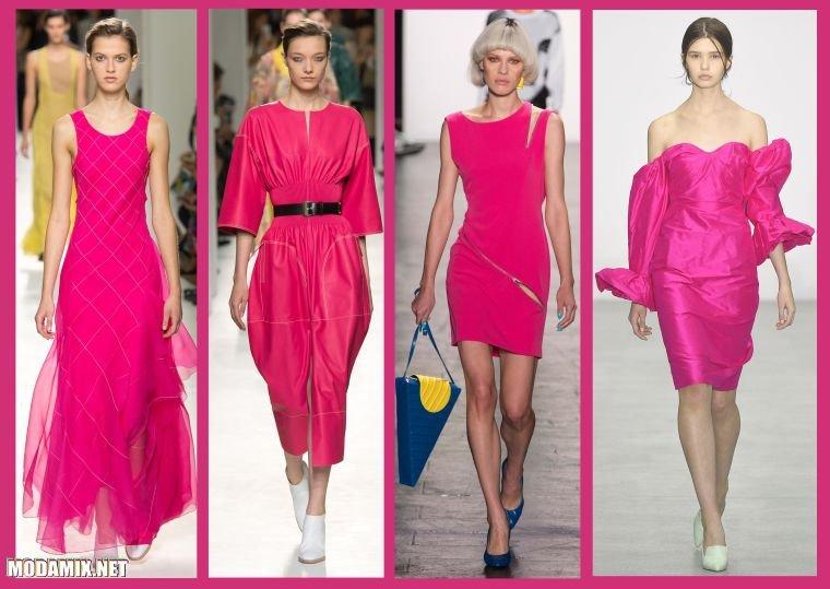 Модный цвет платья в 2017 году