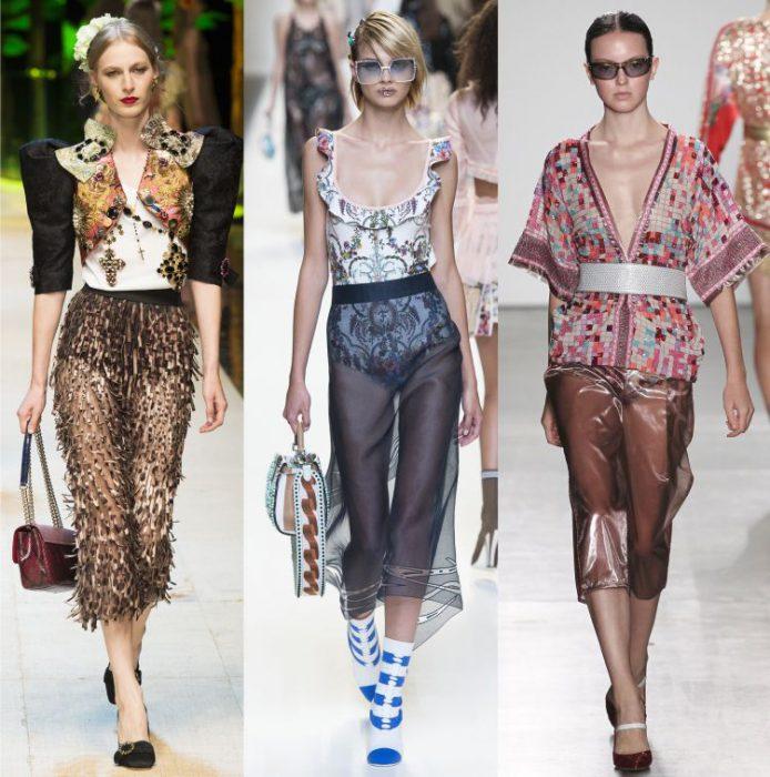 Какие юбки в моде весной 2017 года?