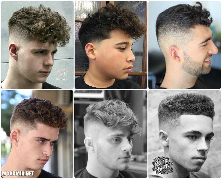 Мужские стрижки 2017 на кудрявые волосы