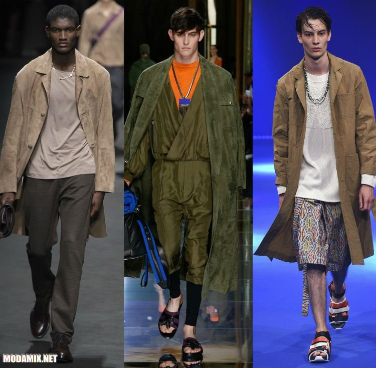 Фото замшевых пальто для мужчин