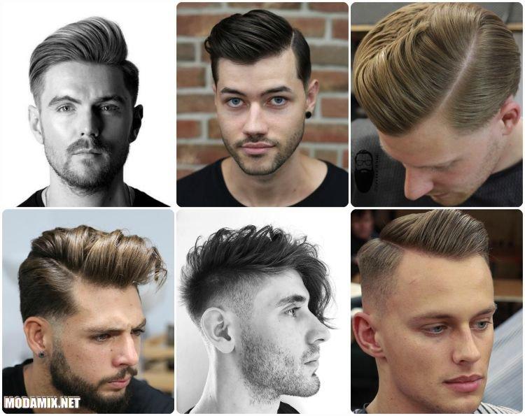 Фото модных асимметричных стрижек для мужчин на 2017 год