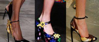 Самые модные туфли 2017 года фото новинок