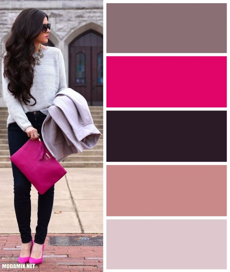 PANTONE 17-2034 Pink Yarrow в женском гардеробе