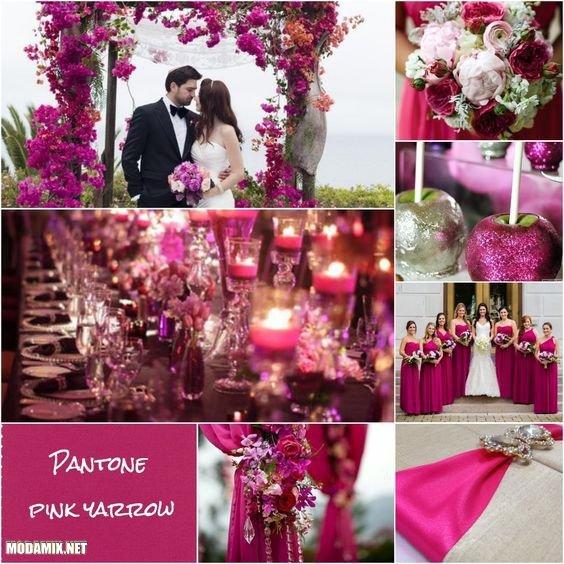 Свадьба в цвете Pink Yarrow