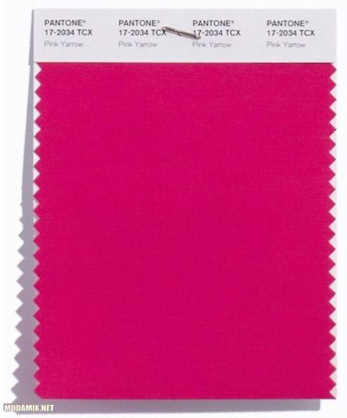 Свотч цвета PANTONE 17-2034 Pink Yarrow