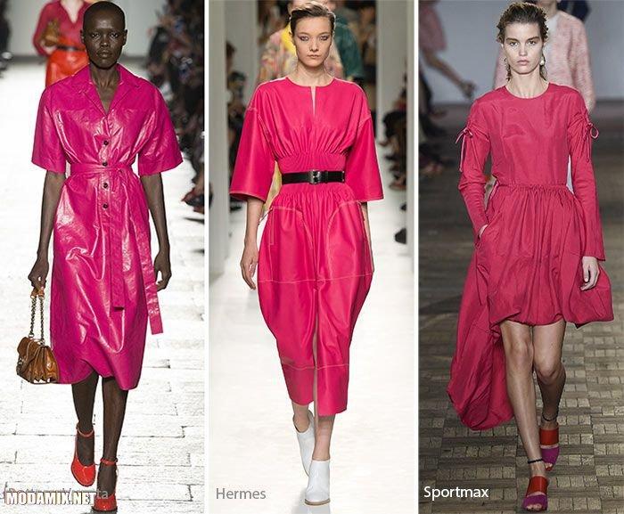 PANTONE 17-2034 Pink Yarrow в коллекциях одежды 2017 года