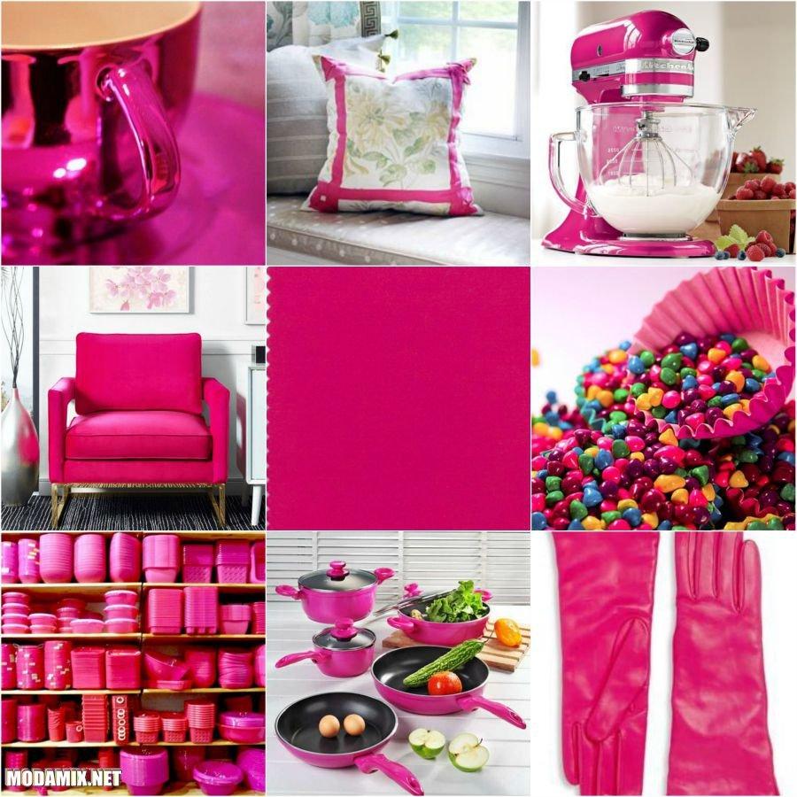 PANTONE 17-2034 Pink Yarrow в нашей жизни
