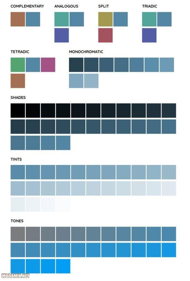 Как сочетать цвет Ниагара?