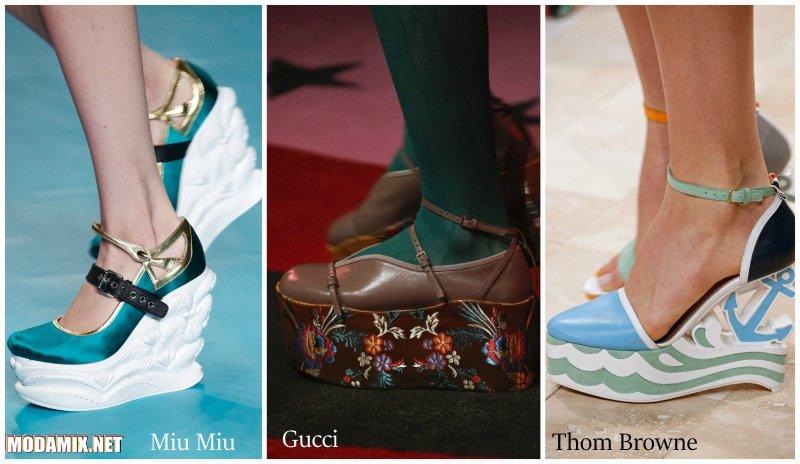 Модные туфли весна 2017