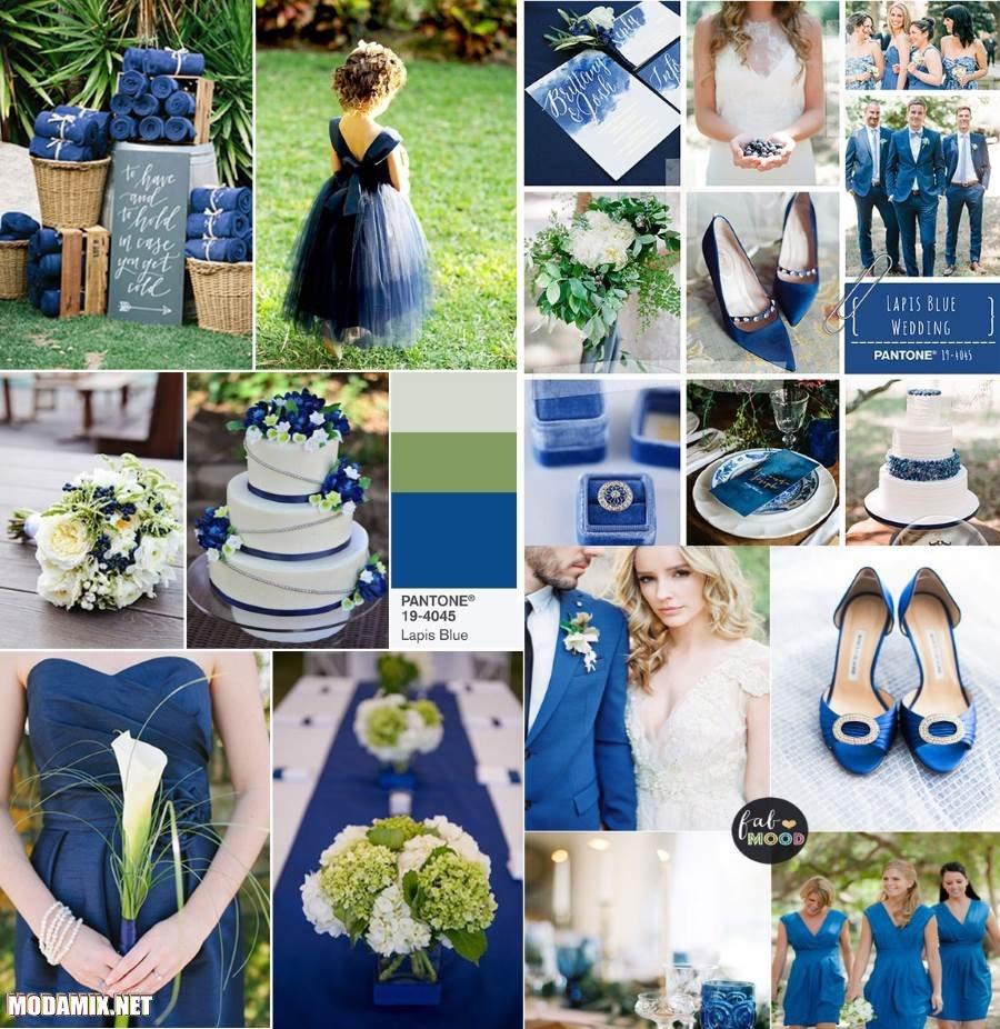 Синий цвет 2017 года Lapis Blue