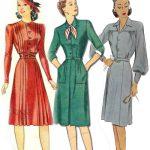 Фото платьев 40 годов в английском стиле