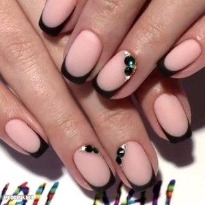 Ногти нежные цвета фото френч