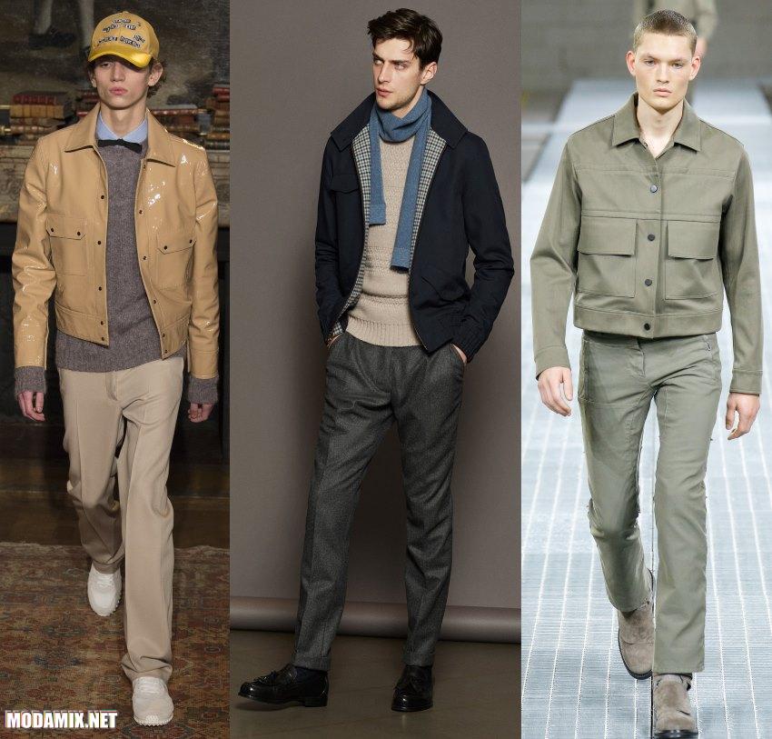 Модные мужские куртки осень 2017