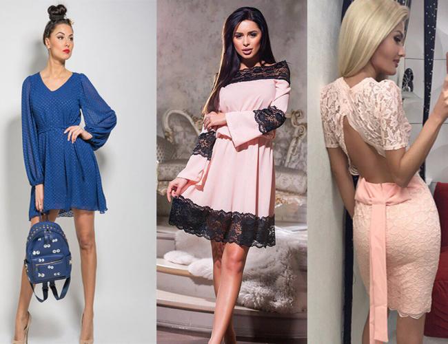 9ee7f5cd7ff8218 Модные фасоны платьев 2018 (20 фото)
