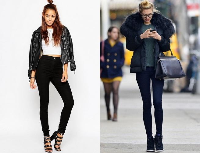 Мода джинсы 2018