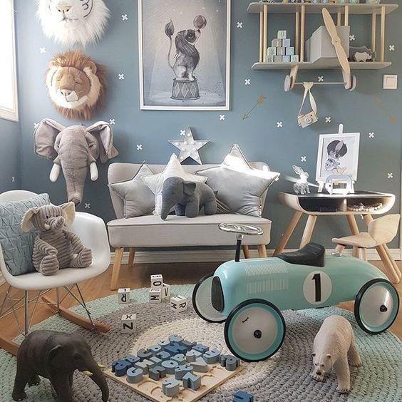 Детские комнаты для малышей