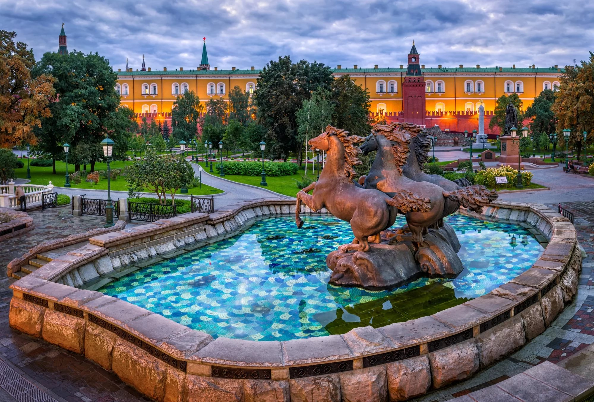 Александровский сад в картинках