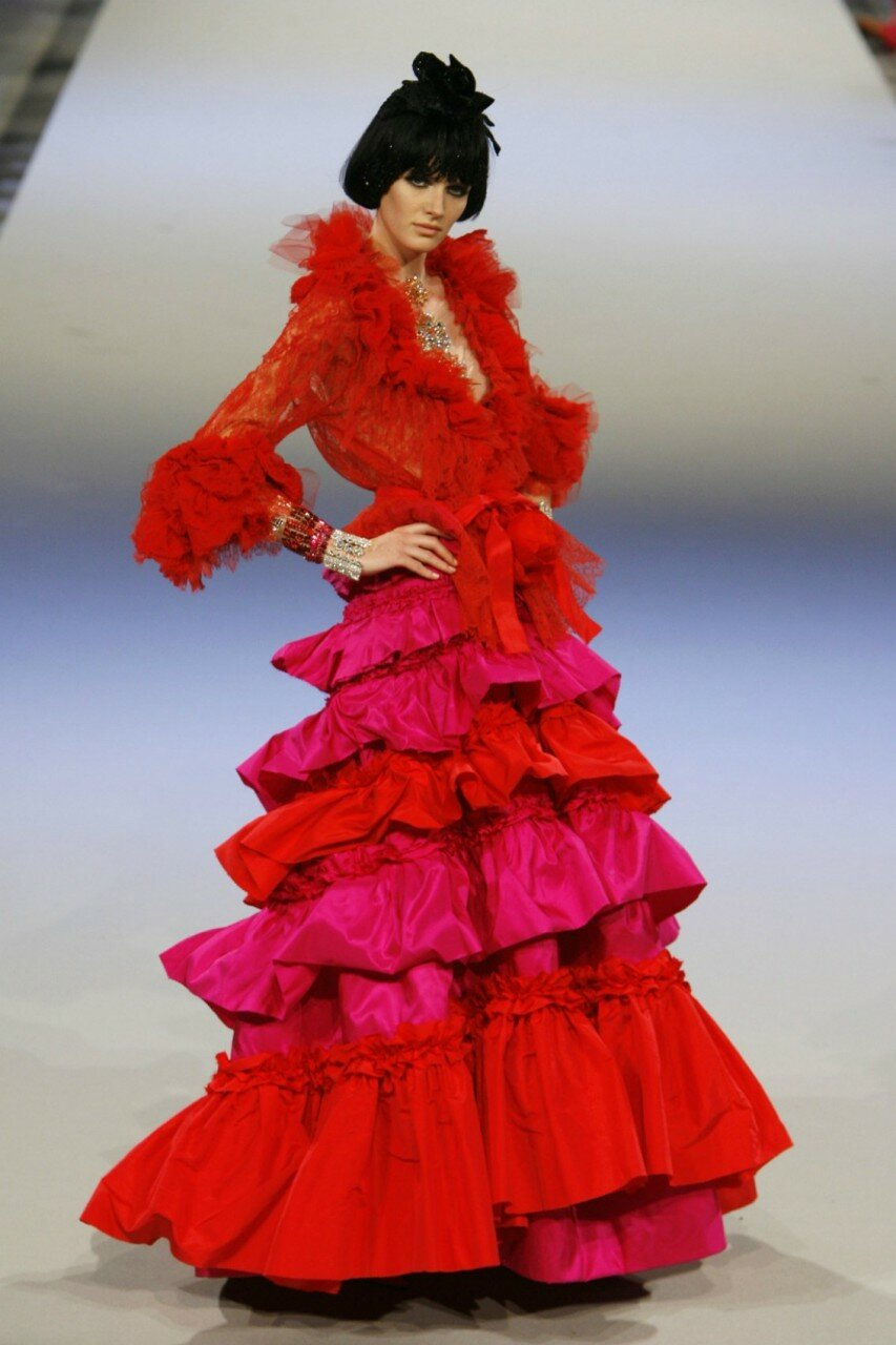 Кристиана Лакруа платье