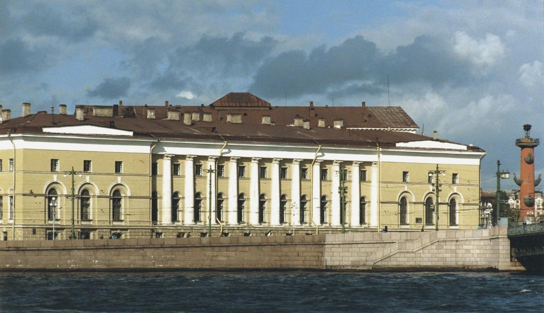 Зоологический музей РАН в Санкт Петербурге. Фото