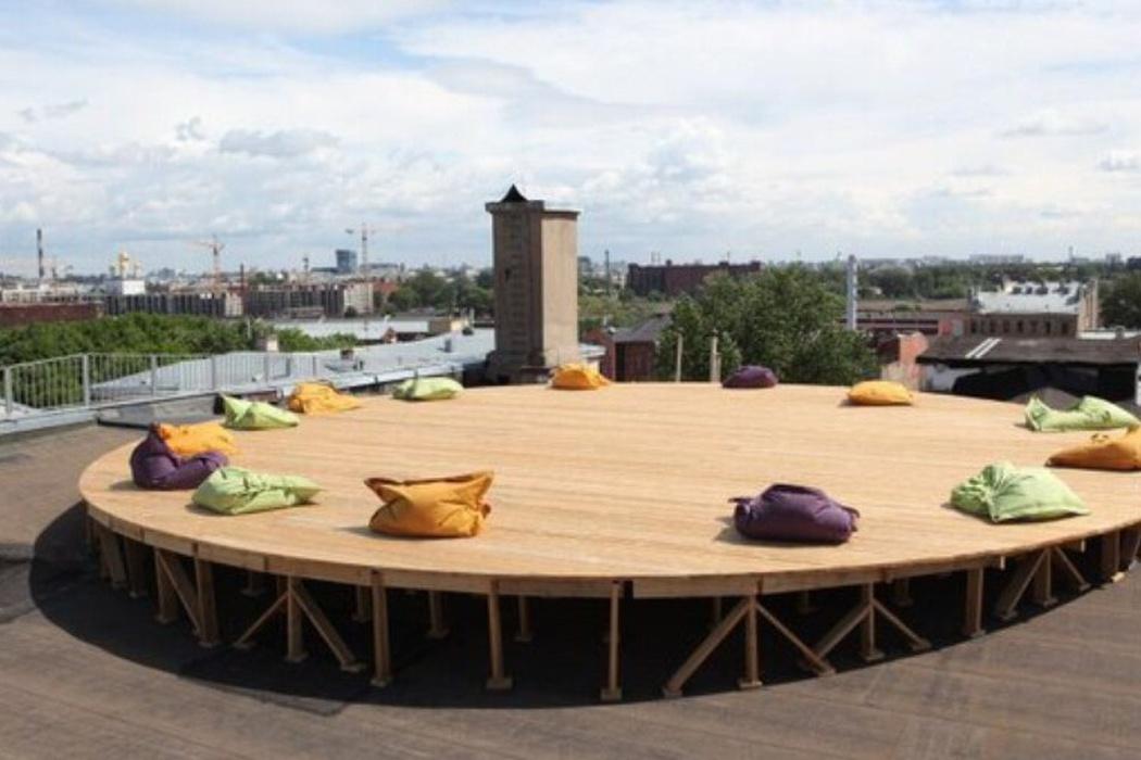 Лофт-проект «Этажи» и открытая обзорная площадка «Крыша» в Санкт Петербурге. Фото