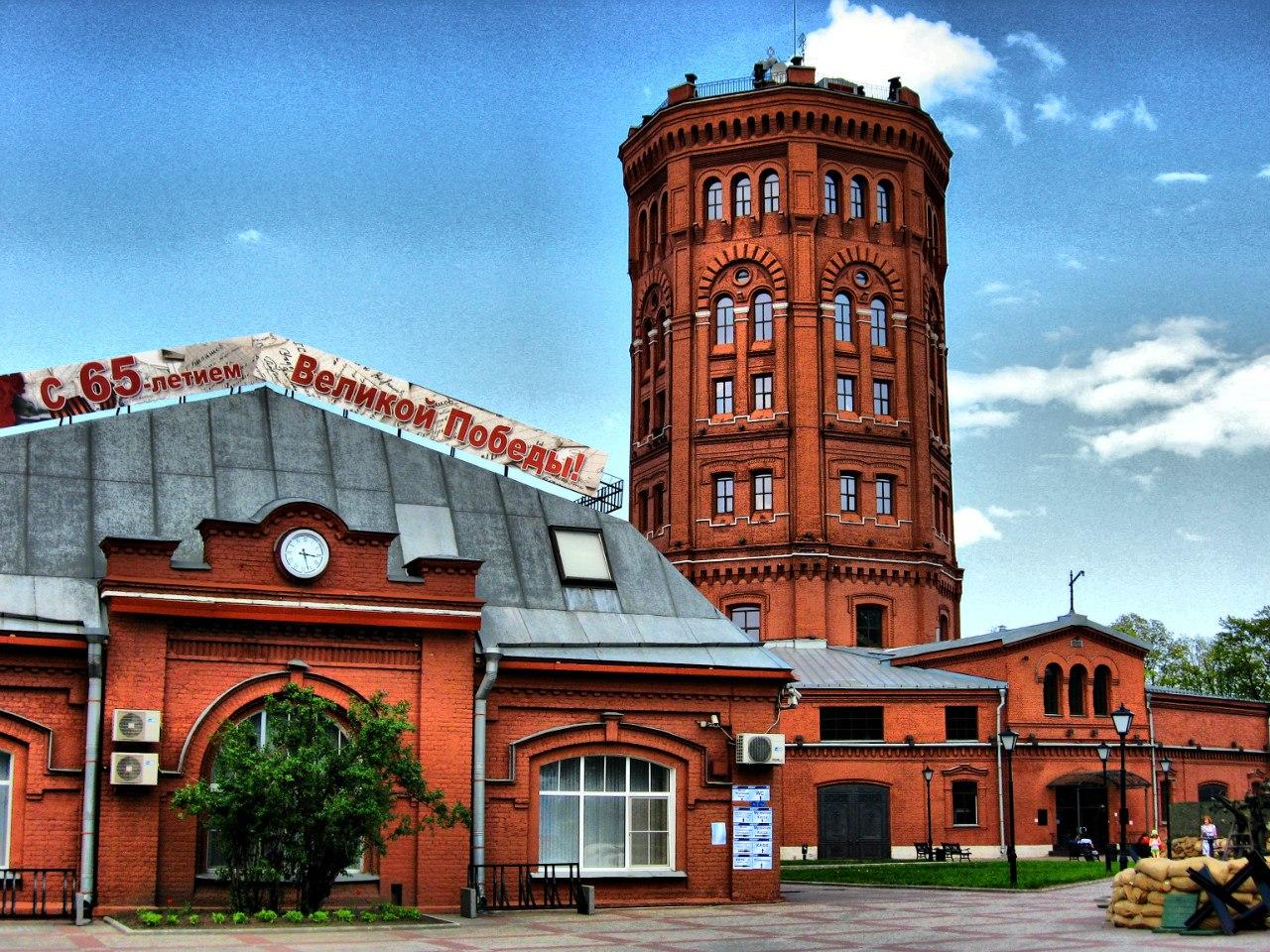 Музей воды в Санкт-Петербурге. Фото