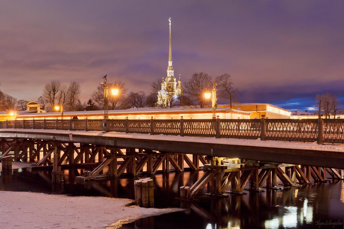 открытки мост время спб верхняя