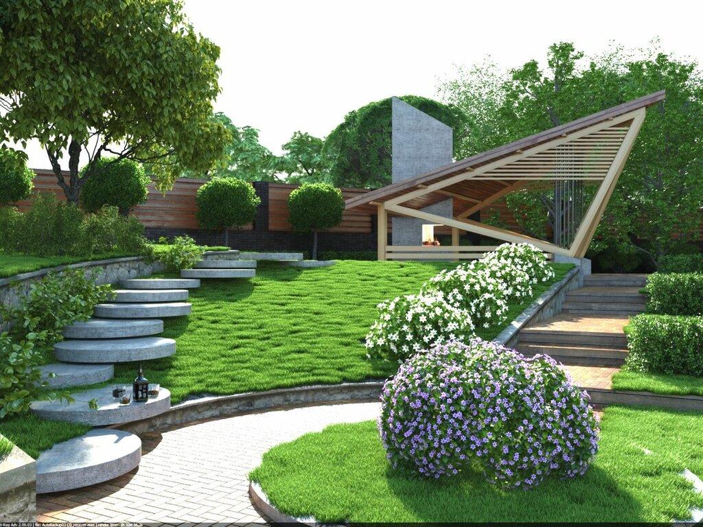 Ландшафтный дизайн на вашем участке