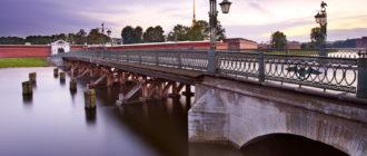 Иоанновский мост в Санкт Петербурге. Фото