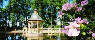 Летний сад в Санкт Петербурге. Фото