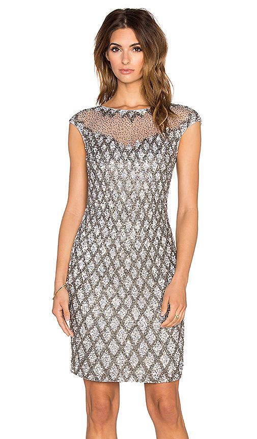 Платье металлического цвета