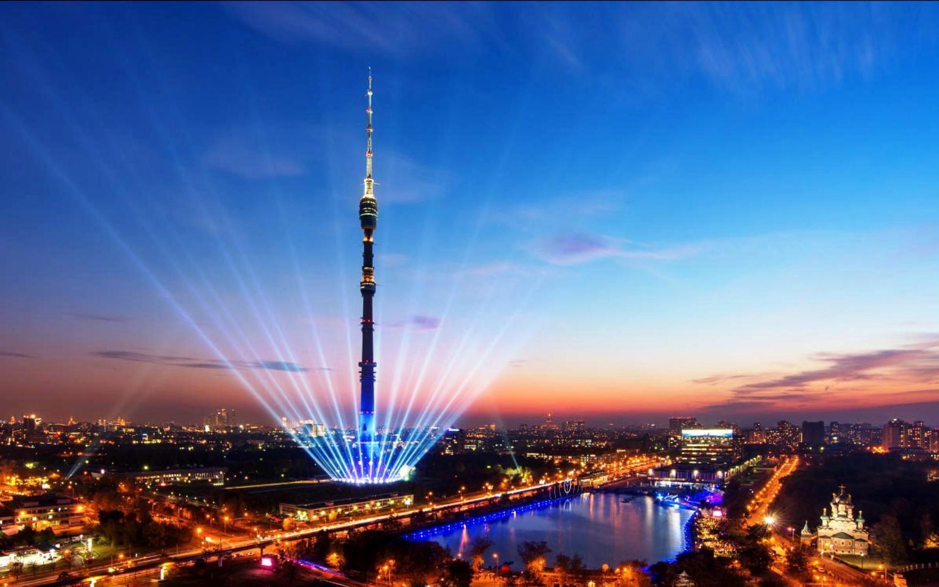 Останкинская телебашня г. Москва. Фото