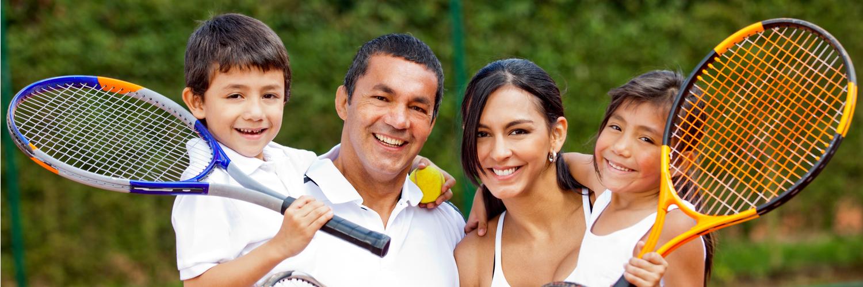 Теннисная одежда для всей семьи
