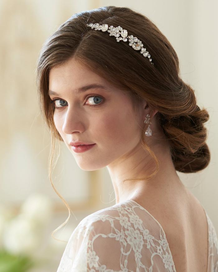 Wedding Hairstyles Headband: Types Of Bridal Hair Accessories