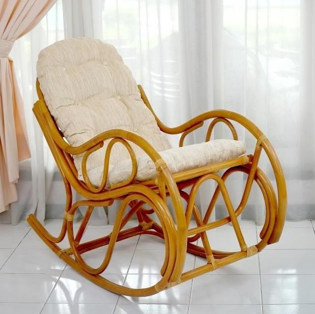 плетеные кресла- качалки