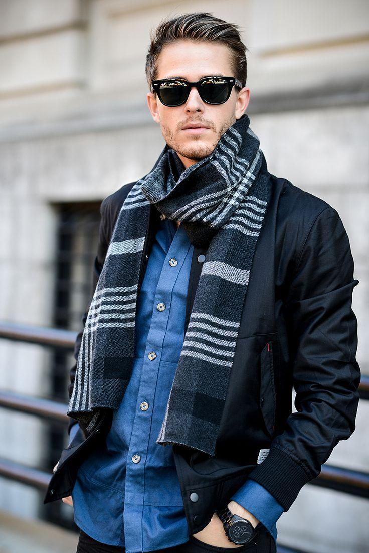 стильный мужчина