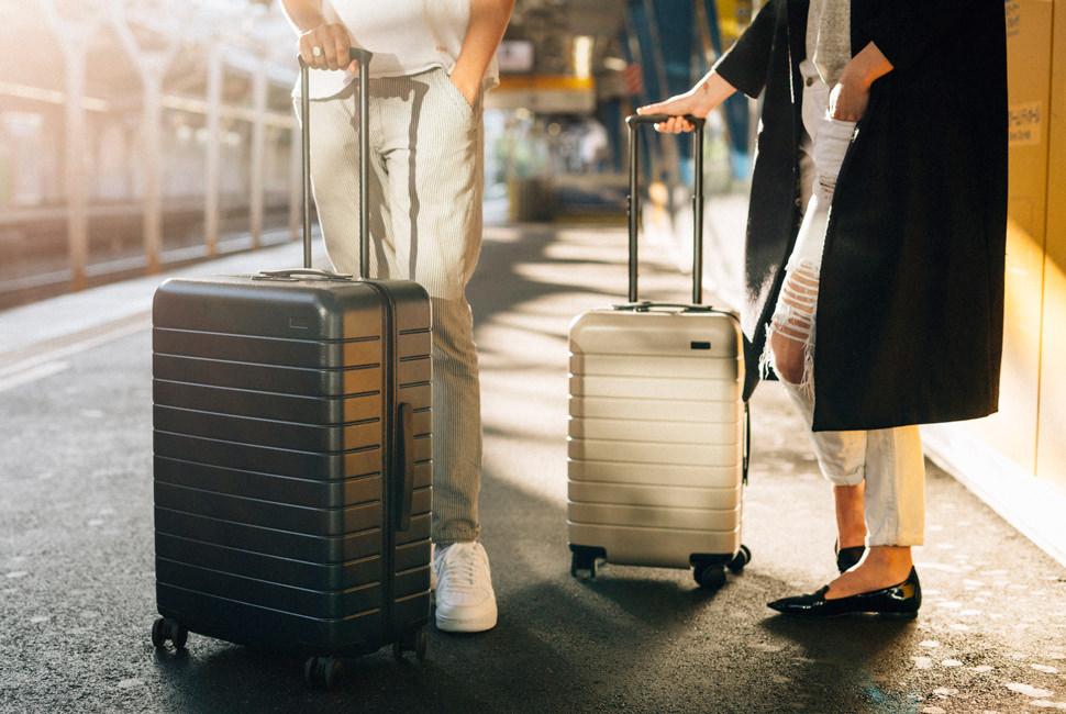чемоданы в поездку