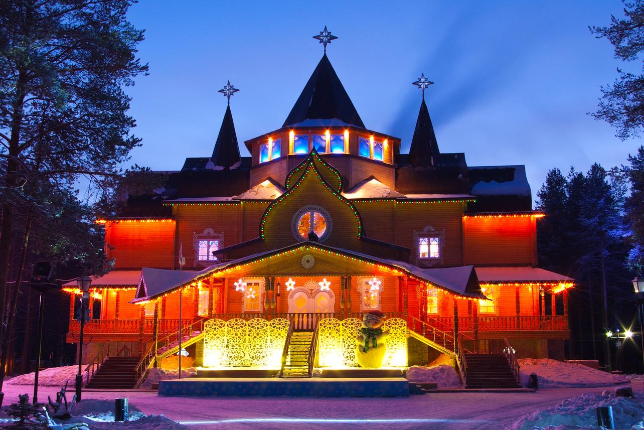 Великий Устюг дом Деда Мороза