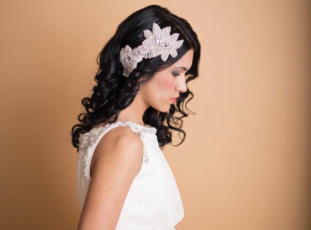 украшения на волосы на свадьбу